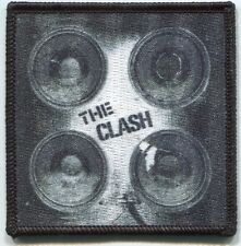 THE CLASH speakers logo EMBROIDERED IRON-ON PATCH *Free Shipping* london calling