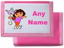 Dora explorer style personnalisé porte-feuille/sac à main * choix de couleurs * mayzie designs ®