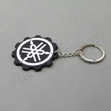 Cool Motorcycle Rubber Keyring Keychain Key Chain Key ring For YAMAHA black Gift