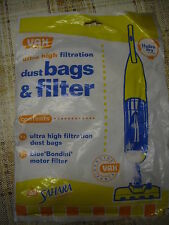 VAX DUST BAGS AND FILTER VACUM CLEANER
