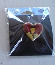 Elvis Presley / Heart pin-on Jewelry / New cond. Great for Mother's Day - 1 x 1""