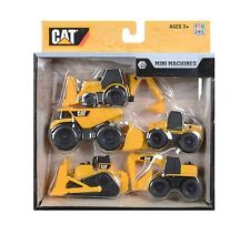 CAT Construction Mini Machine 5 Pack by Toy State - TOP SELLER - EXPRESS POSTED!