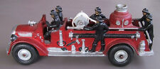 Scarce Arcade Cast Iron Toy Fire Pumper c. 1938