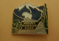 Mount Robson Provincial Park British Columbia Canada Lapel Pin