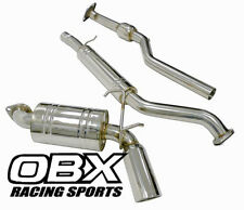 OBX CatBack Exhaust For 06 07 08 09 10 11 12 Mazda MX-5  Miata w/Cattted Pipe