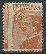 1926 REGNO EFFIGIE 60 CENT FALSO DELL'EPOCA VARIETà DENTELLATURA MNH ** - W160