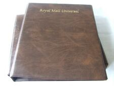 ROYAL MAIL UNIVERSAL LUXURY PADDED ALBUM, LEAVES & SLIPCASE, EXCELLENT CONDITION