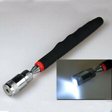 Telescopic flexible Magnetic Pick-Up Tool w/ LED Light Reach 81cm Extendable