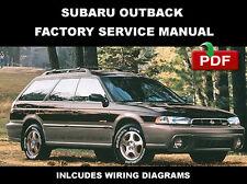 SUBARU 1996 1997 1998 1999 OUTBACK FACTORY SERVICE REPAIR WORKSHOP FSM MANUAL