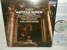 414 057-1 Bach St Matthew Passion Ely Ameling / Munchinger 4LP Box Set