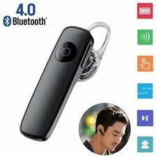 Bluetooth Wireless Stereo Headset Handfree BLACK Earphone for iPhone Samsung LG