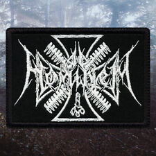 Ad Hominem | Embroidered Patch | France | Black Metal