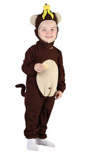 BOYS GIRLS TODDLER CHEEKY MONKEY ONESIE FANCY DRESS COSTUME FITS 2 - 4 YEARS