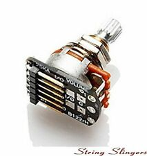 EMG 25K Volume Pot with short split shaft & Cables, (6-pin) Solderless
