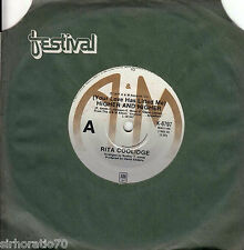 RITA COOLIDGE Higher & Higher / I Don't Wanna Talk About It 45