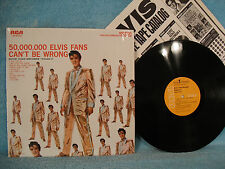 Elvis Presley, 50,000,000 Fans Can't Be Wrong Vol 2, RCA Victor LSP-2075(e) 1968