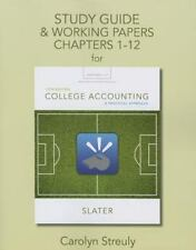Study Guide & Working Papers for College Accounting: A Practical Approach,...