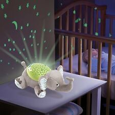 Nursery Cot Mobile Room Baby Light Projector Elephant Boy Girl Night Sleep