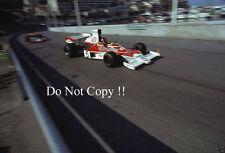 Emerson Fittipaldi McLaren M23 Monaco Grand Prix 1974 Photograph 5