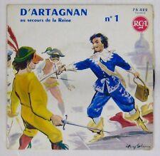 D'Artagnan au secours de la Reine 45 tours 1960