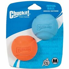 Chuckit! chien fetch toy fetch balle en caoutchouc durable s'adapte lanceur medium