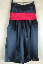 Toto Black & Red Plus Size Strapless Special Occasion Party Prom Dress