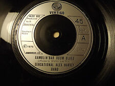 Sensational Alex Harvey Band.....Gamblin' Bar Room Blues......45rpm rock