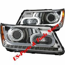 DODGE JOURNEY 2009-2015 PROJECTOR SCHEINWERFER LED chrom 09 15 2010 2014 12 2013