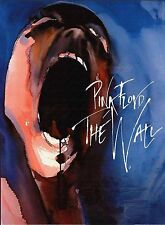 "PINK FLOYD The WALL Rock Guitar music Painting Giclee canvas 16""x20"" Gilmour"
