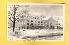 RPPC North Conway, NH New Hampshire, Eastern Slope Inn, nice snow scene