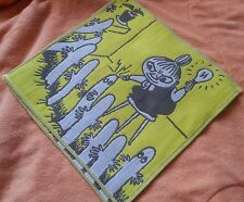 Moomin Towel Museum Little My Yellow Embroidery Handkerchief one piece