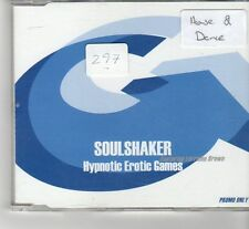 (FR564) Soul Shaker, Hypnotic Erotic Games - 2005 DJ CD