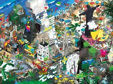 NEW! Heye Rio by Eboy 1500 piece comic cartoon jigsaw puzzle