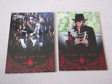 Michael Jackson - No 7 & 111 - 2 Panini Trading Cards 2011 *RARE* aus USA