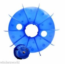 ELECTRIC MOTOR PLASTIC COOLING FAN - ELECTRIC MOTOR SPARES, FRAME SIZE 100
