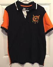 Boys Ralph Lauren Rugby 1985 World Cup SWitzerland Crest Shirt Youth XL Chest 38