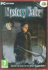 Mystery Valley, Dark & Spooky, Hidden Object Adventure PC Game, NEW