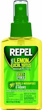 Repel Lemon Eucalyptus Natural Insect Mosquito Repellent 4oz Pump Natural 94109