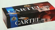 Cartel 200 Filter Cigarette Tubes Golden  Filter