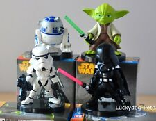 Star Wars 4pcs Toy Figure Doll Darth Vader/R2-D2/Yoda/Stormtrooper New In Box
