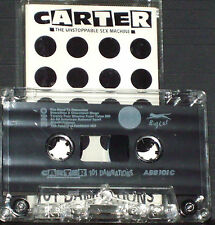 Carter USM‎ 101 Damnations CASSETTE ALBUM Big Cat ‎ABB101C 1990 Synth Indie Rock