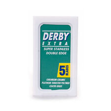 Derby Extra Double Edge Replacement Manual Razor Blades (5 Blade) packet