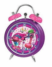 DreamWorks Trolls Mini Twinbell Alarm Clock  *BRAND NEW*