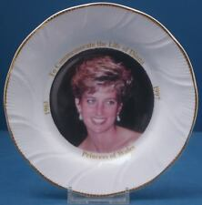 Princess Diana Commemoration Plate
