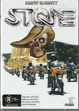 STONE - BIKER GANGS - SANDY HARBUTT - NEW & SEALED DVD - FREE LOCAL POST