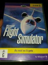 Microsoft Flight Simulator for Windows 95 PC GAME - FREE POST