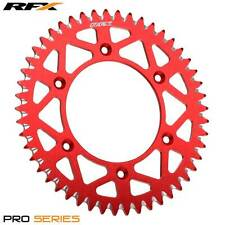 RFX Pro Series Rear Sprocket 420 (RED) HONDA CR85 03-07 56T Big Wheel