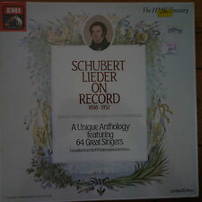 RLS 766 Schubert Lieder On Record 1898-1952 / 8 LP box set SEALED