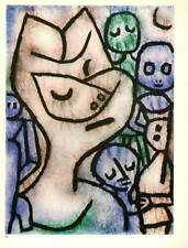"Paul Klee Authentic Vintage Print 1972 ""Attitude of a Face"""