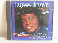 CD ALBUM JAMES BROWN Live Volume 1 The collection OR0065